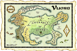 Vuora map color web