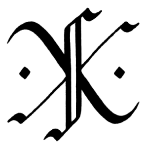 kfk monogram transparent